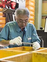 吉田 修:営業・生産品質管理 担当 / 勤続年数10年